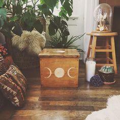 ∆ Bohemian Interior, Home Interior, Bohemian Decor, Interior And Exterior, Bohemian Living, Moon Decor, Deco Boheme, Boho Home, My New Room