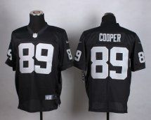 Oakland Raiders #89 Amari Cooper Black Elite Jersey