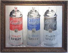 Mr. Brainwash, Campbell's Spray Cans