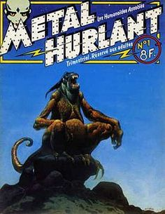 Métal hurlant - Wikipedia, the free encyclopedia