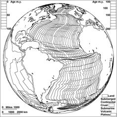 Sea Floor Spreading In the Atlantic - coloring page. Earth Science Projects, Earth Science Activities, Earth Science Lessons, Earth And Space Science, Science Ideas, 8th Grade Science, Middle School Science, Teaching Geography, Teaching Science