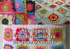 """The Anarchist Knitter: How to pick """"random"""" colours for granny motifs - Tutorial"""