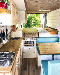 Awesome Suv Camping Remodel Makeover Ideas Van Camping Diy Camper Van Remodel Inspirations Fancydecors Vivre Dans Un - nubika Camping Diy, Van Camping, Retro Camping, Camping Ideas, Camping Kitchen, Camping Essentials, Camping Car Sprinter, Sprinter Motorhome, Mini Motorhome