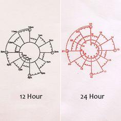 Aliexpress.com :  Chronodex 12/24 Stunde Zeit Pie Charts Stempel für Tagesplaner Organizer Tagebuch Notebook Zeitmanagement Dichtung Werkzeug Stationery shop von verlässlichen stempel kunststoff-Lieferanten auf NOTEBOOKS kaufen