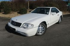 1997 Mercedes R129 SL320 37,000 miles Petrol, Automatic, Polar White at www.woldsideclassics.co.uk