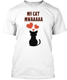 "€20.51 New L.E ""MY LOVELY CAT"" Tee  100% cotton, made in the U.S.A  my lovely cat"