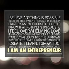 """How poignant...  """"I believe anything is possible. I see opportunity when others see impossibility...""""    Reposting from Think And Grow Rich."""