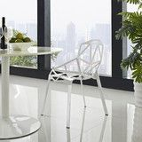 Modway Furniture Connections Modern Dining Side Chair  #design #homedesign #modern #modernfurniture #design4u #interiordesign #interiordesigner #furniture #furnituredesign #minimalism #minimal #minimalfurniture