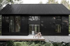 Tucked away in the forest of Quebec, the Grand Pic Cottage is a minimalist retreat inspired by the landscape on which it sits. The home...