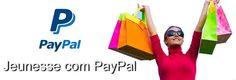 Vocês sabiam que a Jeunesse aderiu ao PayPal? Maior facilidade e segurança na hora de efetuar as suas compras garantido.  A partir do dia 27 de Agosto de 2015 as pessoas no mundo todo podem adicionar mais um método de pagamento na Jeunesse. Agora as pessoas podem fazer o seu cadastro na Jeunesse pagando a taxa de inscrição usando o PayPal.  Compre agora ou se torna um dos nossos distribuidores: URL: http://ift.tt/1U7UqoC E-mail:rejuvenescimentoportugal@gmail.com Facebook…