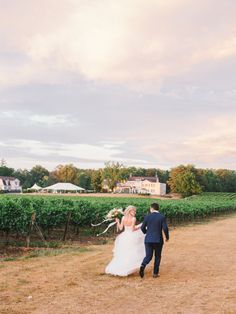 It's golden hour in the vineyard: http://www.stylemepretty.com/canada-weddings/ontario/niagara-on-the-lake-ontario/2017/02/01/a-gorgeous-alfresco-wedding-among-the-vineyards/ Photography: Julia Park - http://www.juliapark.ca/