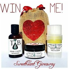 Pin it to WIN it! Organic Body Care Sweetheart Gift Set #pinittowinit #pinit #pin #giveaway #contest #valentine #prize #entertowin #tiab