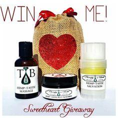 Pin it to WIN it! Organic Body Care Sweetheart Gift Set #pinittowinit #pinit #pin #giveaway #contest #valentine #prize #entertowin #tiab