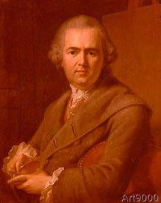 Johann Heinrich Tischbein der Ältere - Selbstbildnis