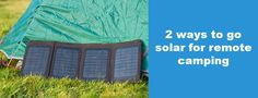 Retrofit Your Motor Home with Extra Power —Try Solar Camping: Modern motor homes are equipped with 12 volt or 24 volt battery systems that get charged by the rig's alternator when the engine is running. They also incorporate a 230 volt battery charger that helps in maintaining the battery when it is connected to the electricity grid.