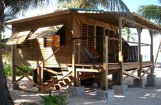 More ideas below: Amazing Tiny treehouse kids Architecture Modern Luxury treehouse interior cozy Bac Cabins And Cottages, Beach Cottages, Cozy Backyard, Tree House Designs, Bamboo House, Hawaii Homes, Beach Shack, Surf Shack, Beach Bungalows