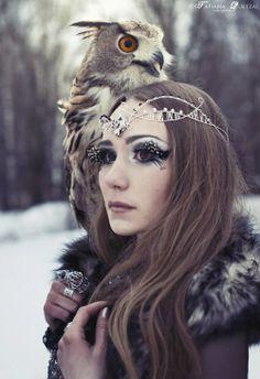 Snow Queen make-up inspiration