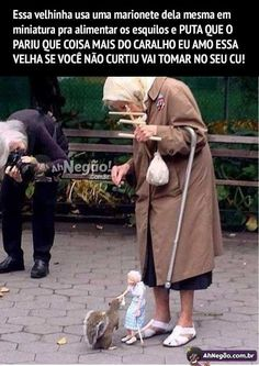 Feeding a squirrel with a marionette. Memes Humor, Cat Memes, Funny Memes, Hilarious Sayings, Dog Humor, 9gag Funny, Funny Animals, Cute Animals, Faith In Humanity Restored