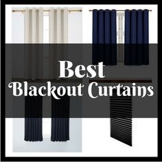 Research has shown that exposure to light can disrupt sleep. The best blackout curtains create complete darkness allowing you sleep with ease.