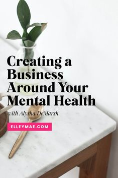 How to create and grow your business in a healthy way that preserves your mental health. #HealthyBusiness #GrowYourBusiness Creating A Business, Growing Your Business, I Want To Work, Social Media Graphics, How To Introduce Yourself, Preserves, Make Money Online, Online Business, Mental Health