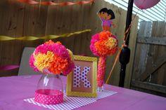 "Photo 1 of 14: Dora the Explorer / Birthday ""A-Dora-ble Birthday Celebration"" | Catch My Party"