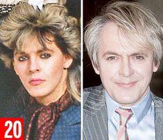 Nick Rhodes: Duran Duran keyboard player, bouffant blond Nick Rhodes, 52, still tours. Wor...