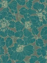 Really like this wallpaper design but maybe more in a sea-blue?    Buy Harlequin Wallpaper, Passion 30734, Teal online at JohnLewis.com - John Lewis