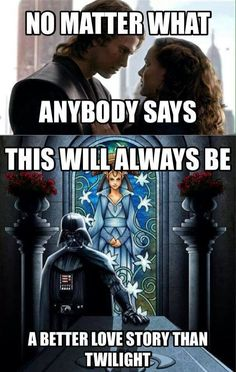 Anakin and Padme....so sad