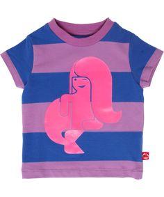 Danefae neon mermaid baby t-shirt. danefae.en.emilea.be