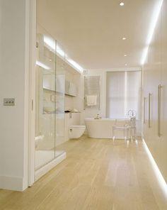 bathroom design. light