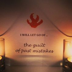I will let go of th