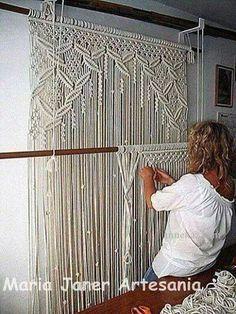 cortinas al crochet utilisima - Buscar con Google
