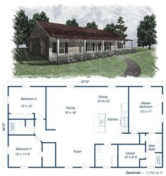 40x50 metal building house plans 40x60 home floor plans for Barn plans with living area