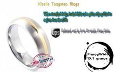 """""""Missile Tungsten Rings"""" #Creative #Art in #fashion @Touchtalent  #tungstenrings"""