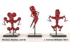 Digital Giraffe Creates These Amazing Giant 3D Printed Sculptures http://3dprint.com/90986/large-3d-printed-sculptures/