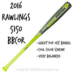 College coaches have raved about this 2016 Rawlings 5150 BBCOR bat.  Find out why.