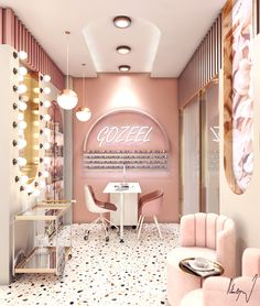 Beauty Saloon : GOZEEL Doha, Qatar on Behance
