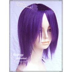 Buy Purple Short Straight Halloween Naruto Bleach Cosplay Costume Wig SKU-158050