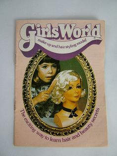 Girls world: I remember getting this for Christmas when I was totally loved it! 1980s Childhood, My Childhood Memories, Sweet Memories, I Love Girls, My Love, Girls World, Retro Toys, Teenage Years, My Memory