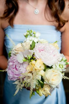 pretty bouquet - if I can't pick 1 type of flower then more than 1 could work.