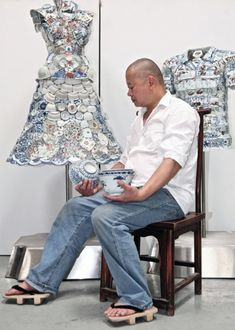 Shirt & Dress by Li Xiaofeng