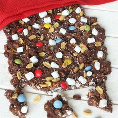 Rocky road Rocky Road, Candy, Sweets, Candy Bars, Chocolates