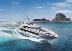 Simply called Maia, this new Heesen vessel is all kinds of amazing, featuring flowing exterior lines, imagined by Clifford Den