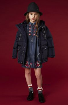 ALALOSHA: VOGUE ENFANTS: Must Have of the Day: 3D floral embroidery from DSquared2 and Love Made Love