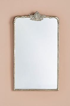 Madeleine Mirror by Anthropologie in Silver, Wall Decor Diy Remodel, Basement Decor, Basement Remodeling, Attic Renovation, Home Remodeling, Bedroom Design, Remodel Bedroom, Bathrooms Remodel, Mirror