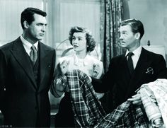 Still of Cary Grant and Myrna Loy in Mr. Blandings Builds His Dream House