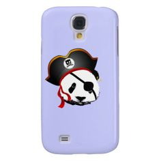 Pirate panda galaxy s4 cases