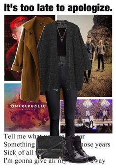 """OneRepublic :)"" by aibileen ❤ liked on Polyvore featuring Chicnova Fashion, Monki, H&M, Forever 21, House of Harlow 1960, Topshop, concert, 16, OneRepublic and soecxited"
