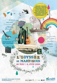 L'Odyssée de Martigues - Lolita Picco / illustration & graphisme
