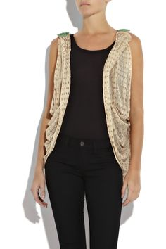 One Vintage | Brandy shrug | NET-A-PORTER.COM